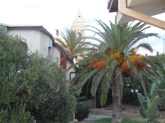 Casa Galez: palme e uliveti