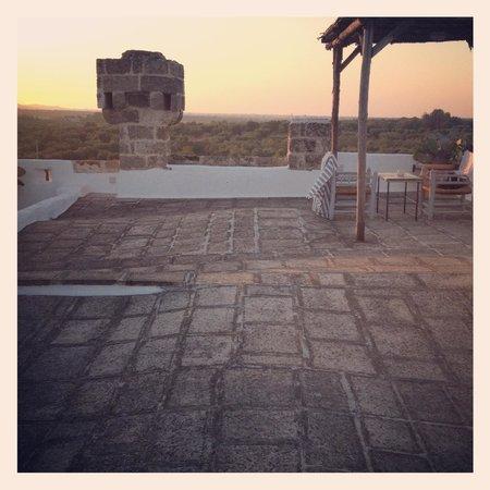 Masseria Don Cirillo: Il terrazzo 2