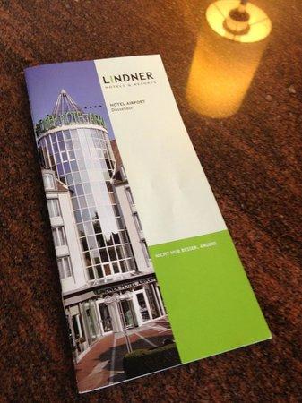 Lindner Hotel Airport: Official Lindner flyer