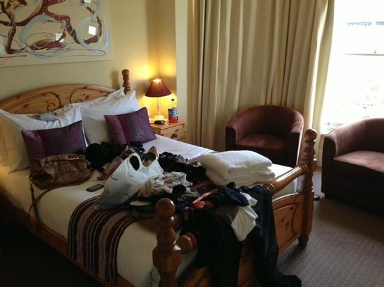 Andover House Hotel: sorry about the mess! But room 19 was lovely