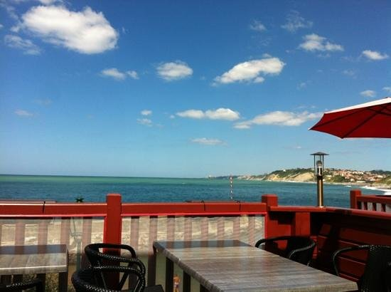 Txamara : terrasse et vue superbe