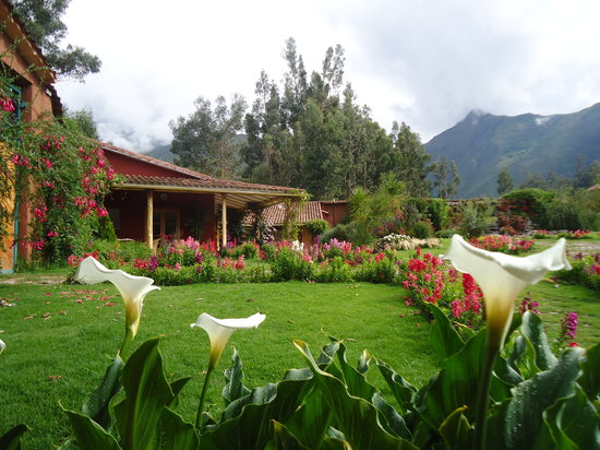 increibles jardines fotograf a de villa urubamba valle