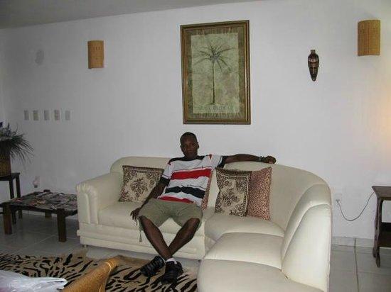 Villa Baobá: Sala da pousada