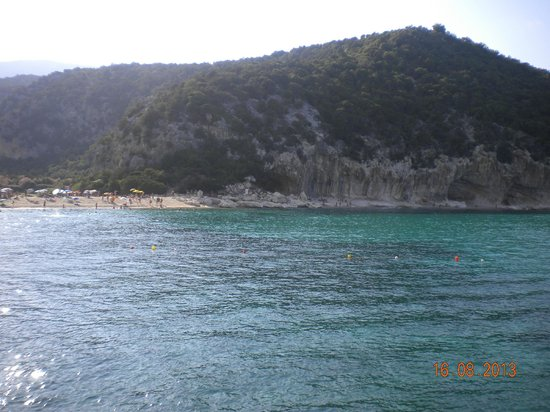 Hotel Smeraldo: La spiaggia vista dal mare