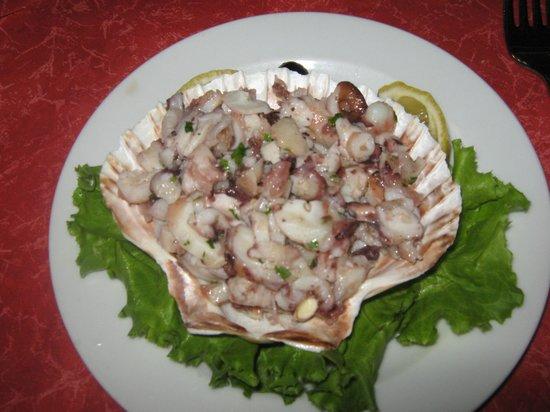 Restoran Losinjsko Jidro: insalata di polipo