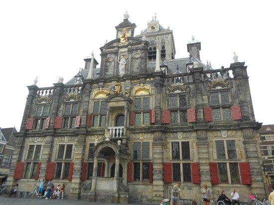 Lindbergh Day Tours : Hôtel de ville de Delft