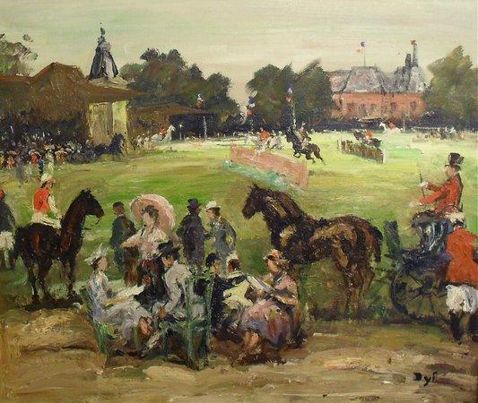 Robert Perera Fine Art Gallery: Marcel Dyf - Original signed oil
