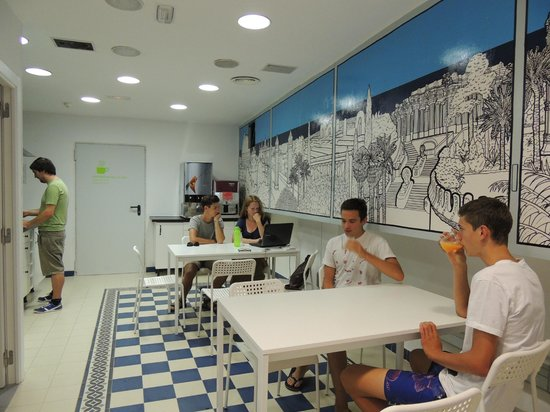 Factory House Hostel : Comedor