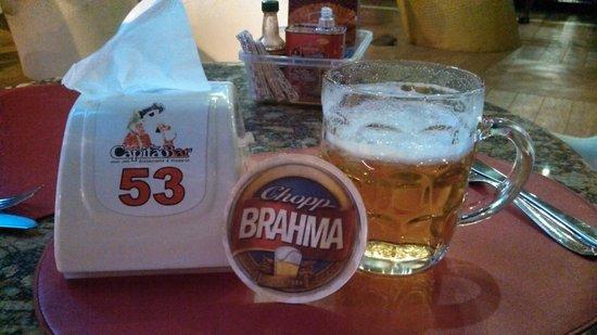 Capitao Bar: Olha o chopp geladérrimo aí!!!!!