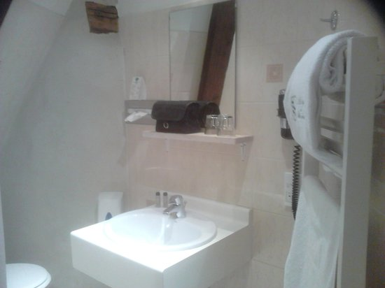 Abbaye de Maizières : Salle de bain