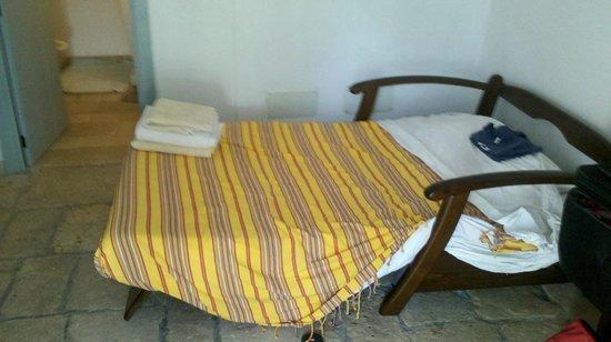 Il Trullo dei Ricordi : divano letto soggiorno