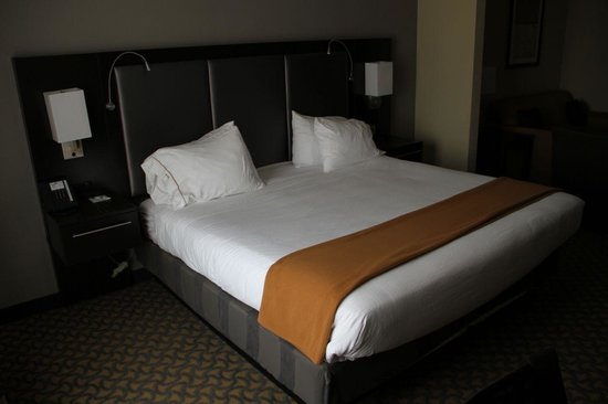 Holiday Inn Express Jackson/Pearl International Airport: King Bed