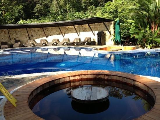 Rio Celeste Hideaway Hotel : Piscina