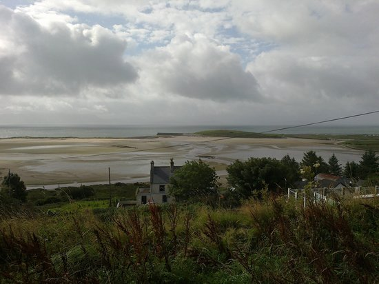 The Great Western Greenway : Clew Bay view from the Greenway near Mullraney Co. Mayo.