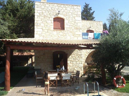 Vamos Traditional Village: Villa and Deck