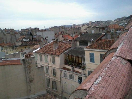 Hotel Saint Louis : Vue de Marseille