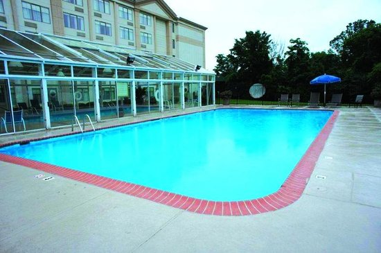 Fitness center picture of wyndham garden manassas for Garden centre pool in wharfedale
