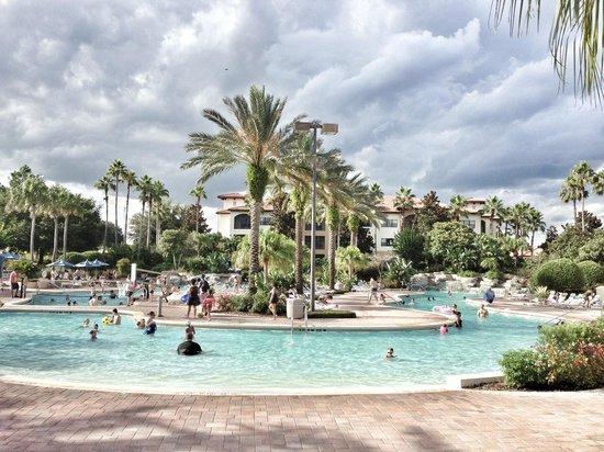 Holiday Inn Club Vacations Orlando - Orange Lake Resort: River Island water park at Holiday inn club resort