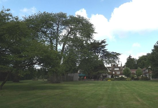 The Conningbrook Hotel: Large grounds