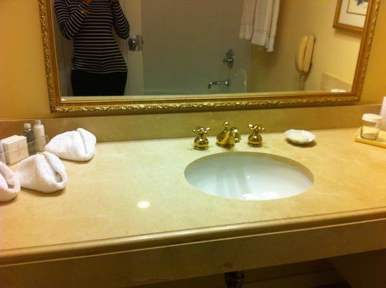 The Griffin Hotel - A Colonial Williamsburg Hotel: Internal bathroom sink