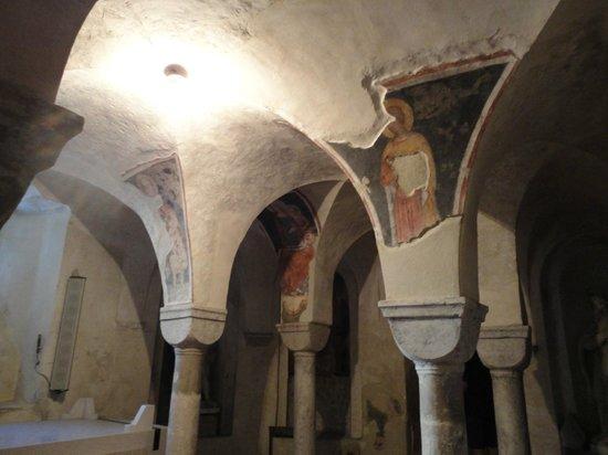 Cattedrale di San Pietro Apostolo: In de crypte van de kathedraal