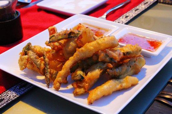 Amala: THE BEST vegetable tempura ever!!