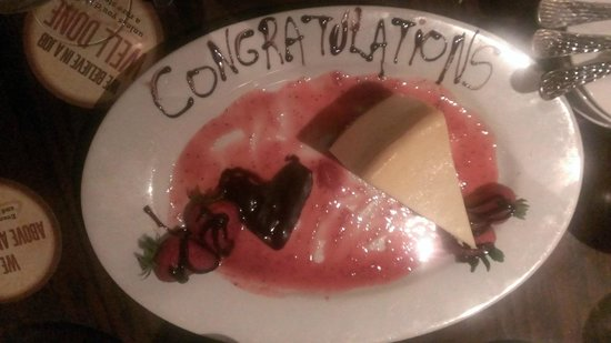 LongHorn Steakhouse: Dessert for the Bride to Be!