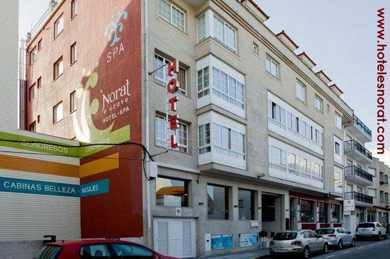 fachada Hotel Spa Norat o Grove