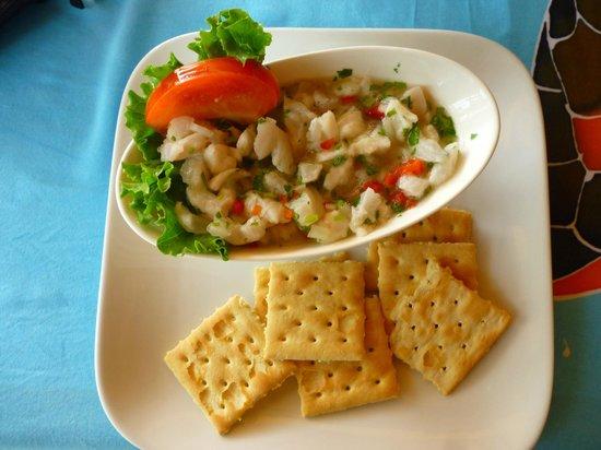 Jardin marino: Ceviche