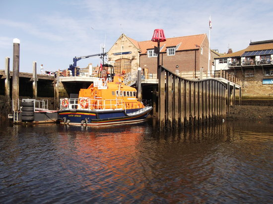Whitby Old Lifeboat: The new lifeboat