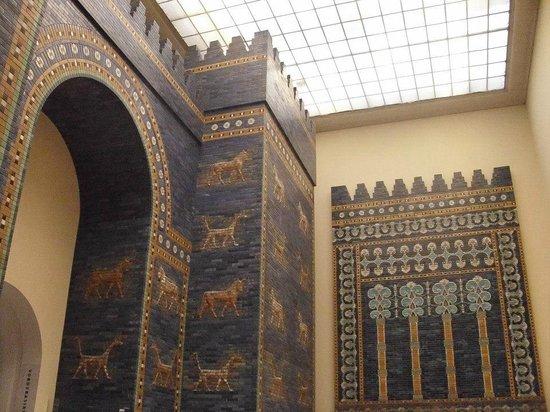 Portal De Ishtar Babilônia Bild Von Pergamonmuseum Berlin