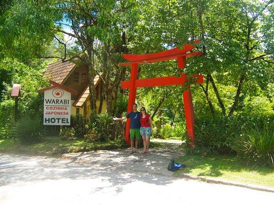 Hotel Warabi: Entrada da Pousada