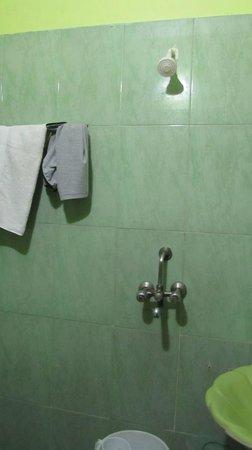 Hotel Rashmi: bathroom