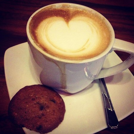 The Coffee Library: Cappuccino and Cookies
