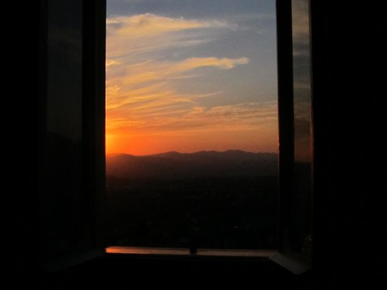 Nobilpietre B&B Stroncone: panorama al tramonto