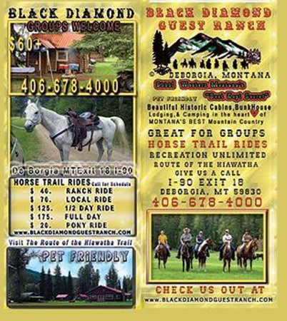 Black Diamond Guest Ranch: 2013-14 Brochure