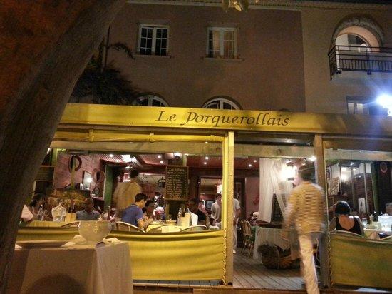 Le Porquerollais: ristorante