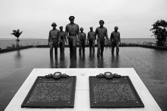 Leyte Landing Memorial - Red Beach, Palo, Leyte, Philippines