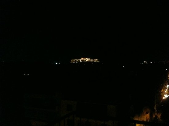 Dryades Hotel: View from the rooftop