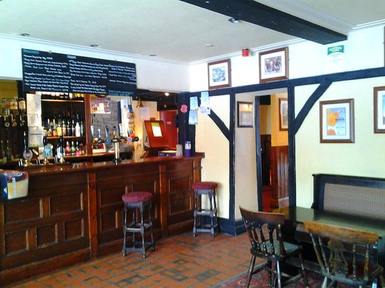 The Miners Arms: bar