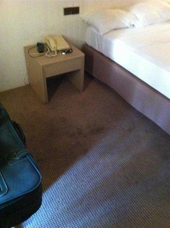 Val Hôtel  : la moquette della stanza