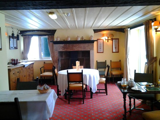 The Miners Arms: dining area