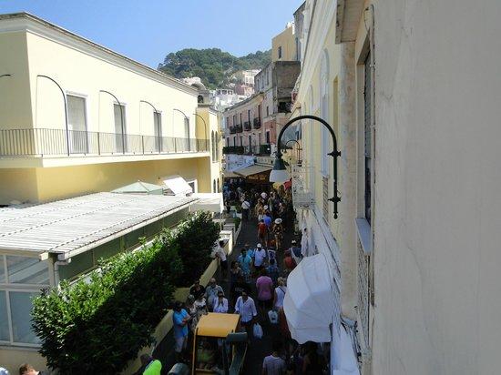 Stella Maris : Desde el balcón