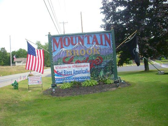Mountain Brook Lodge: Welcome