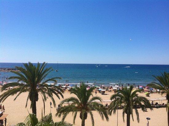 Hotel Casablanca Playa : Vistas habitacion Hotel Casablanca Salou
