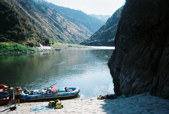 ROW Adventures - Salmon River Canyons: At Camp