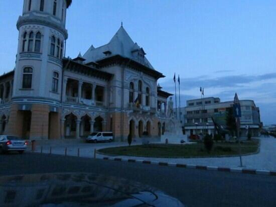 Buzau, Rumunia: city hall