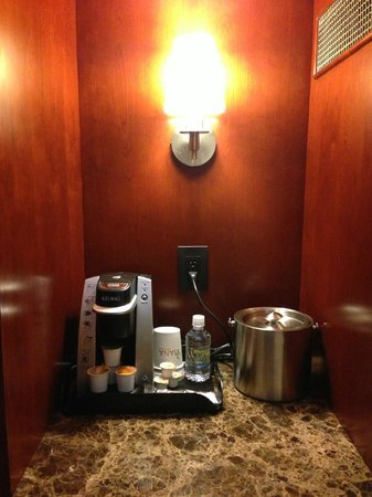 Viana Hotel & Spa, BW Premier Collection : keurig!