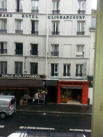 Montmartre Clignancourt: hotel clignancourt