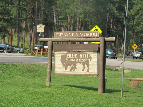 Blue Bell Lodge: Outside the lodge